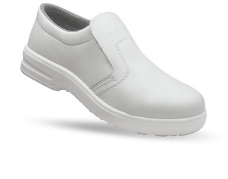 g.p.m. scarpa antinfortunistica uso alimentare bianca cuoco cucina ... - Scarpe Antinfortunistiche Da Cucina